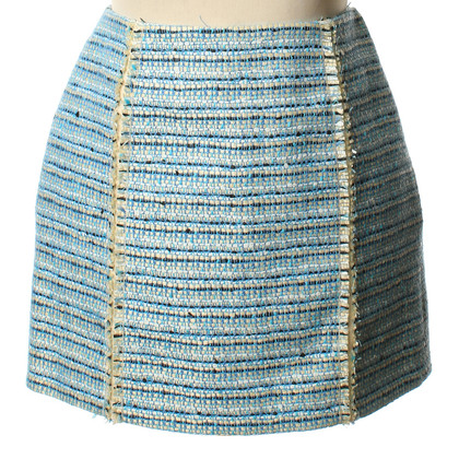 Balenciaga Short skirt with Web structure