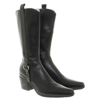 Cesare Paciotti Boots in zwart
