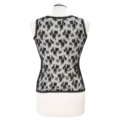 Whistles top with beaded trim