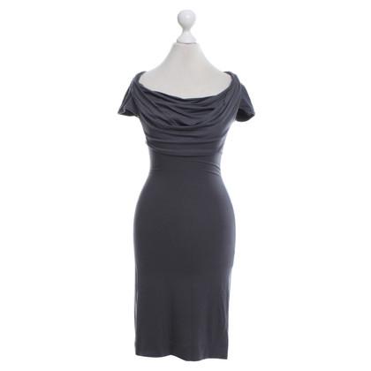 Vivienne Westwood Jersey-Kleid in Grau