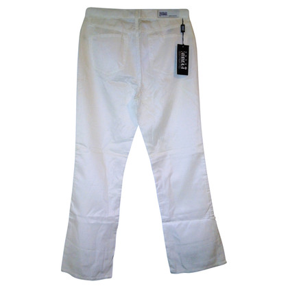 Ferre trousers in white