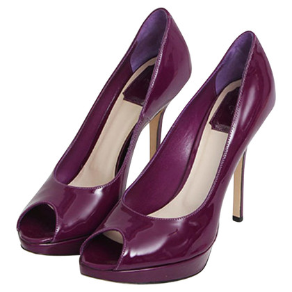 Christian Dior Elegant Peep-Toe pumps