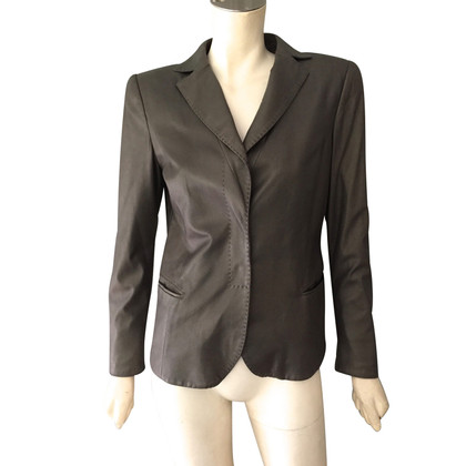 Armani Leather Blazer