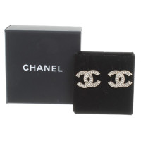 Chanel Ear studs with beaded trim