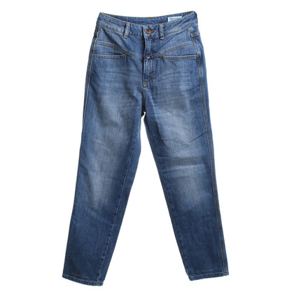 Closed Jeans a vita alta in blu