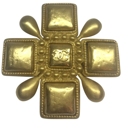 Chanel  Broche goud