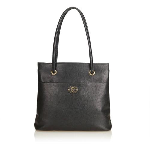 38276ab27cdc Burberry Shoulder bag in black - Second Hand Burberry Shoulder bag ...