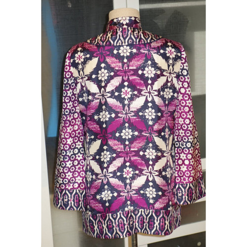 purchase cheap f4558 9c75b Tory Burch Tunica di seta con stampa - Second hand Tory ...