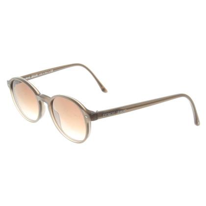 Giorgio Armani Sonnenbrille in Taupe