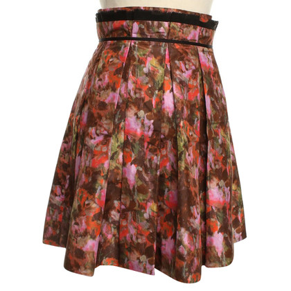 Zac Posen skirt with floral print