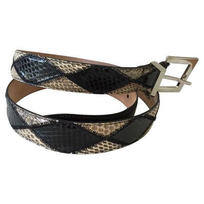 Dolce & Gabbana Gürtel aus Schlangenleder