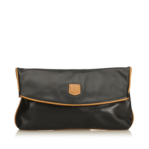 Céline Leather Clutch Bag - Second Hand Céline Leather Clutch Bag ... 604e23a47027e