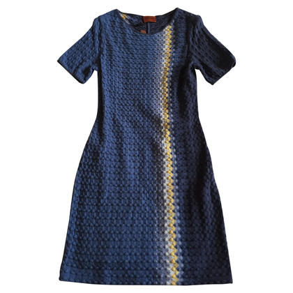 Missoni Blue dress measures 44 IT