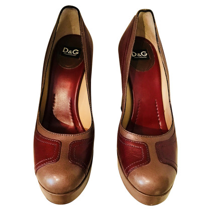 Dolce & Gabbana Plateaupumps