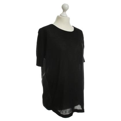 Acne Camicia manica corta nera