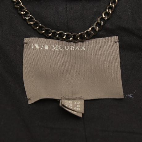 Schwarz Muubaa Pelz mit Weste mit mit Muubaa Schwarz Weste Pelz Pelz Weste Schwarz Muubaa OqOw4ra