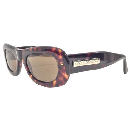Dolce & Gabbana Braune Sonnenbrille