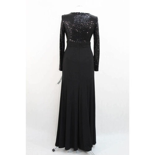 ade6fb182bee8d Ralph Lauren Maxikleid in Schwarz - Second Hand Ralph Lauren ...