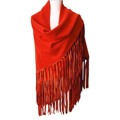 Hermès Kaschmir-Schal mit Fransen