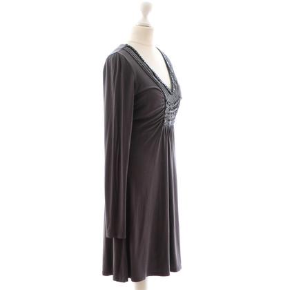 Laurèl Graues Jerseykleid