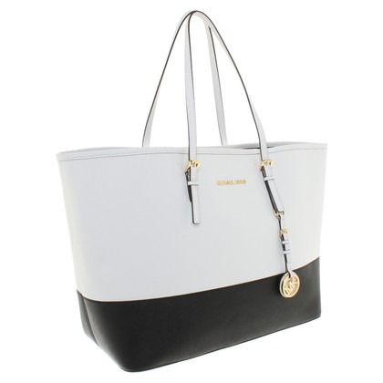 Michael Kors Shopper in black / white