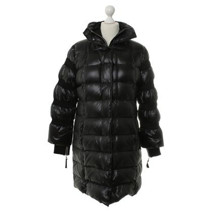 Luisa Cerano Down coat in black