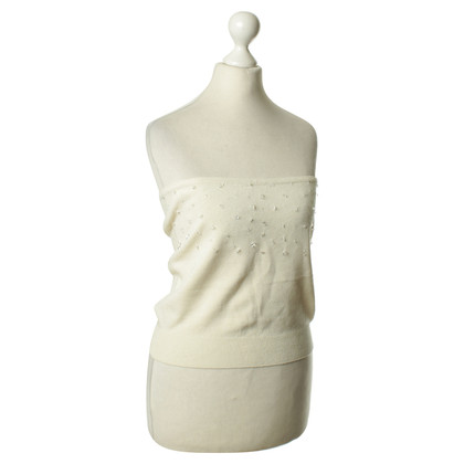 Max Mara Bandeau-Top in Creme