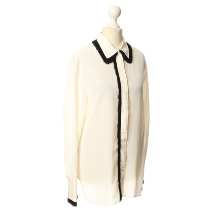 By Malene Birger Blouse met franje