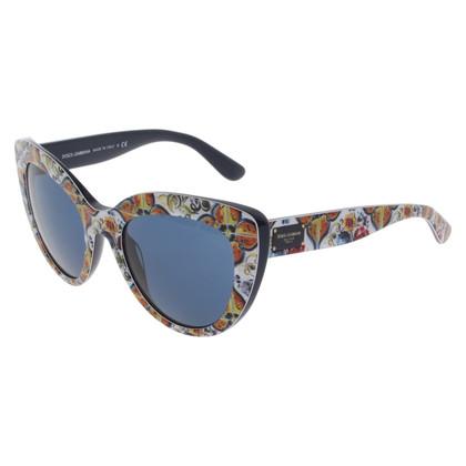 Dolce & Gabbana Sonnenbrille in Majolica Print