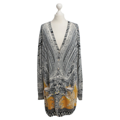 Etro Cardiganjacke in Black / White