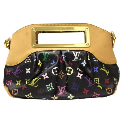"Louis Vuitton ""Judy PM Monogram Multicolore Canvas Noir"""