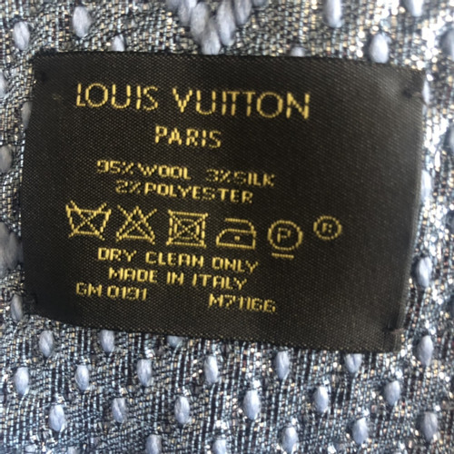 100% originale bambino prezzo base Louis Vuitton Logomania Sciarpa - Second hand Louis Vuitton ...
