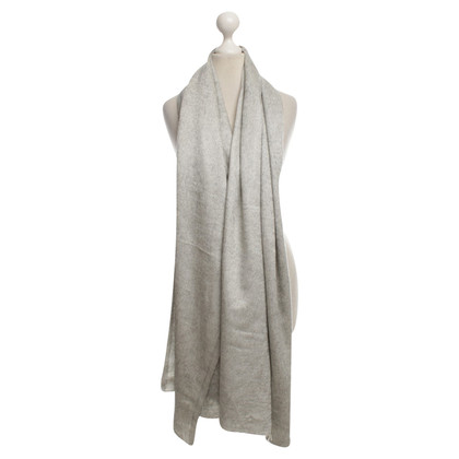 Brunello Cucinelli Cashmere scarf in grey