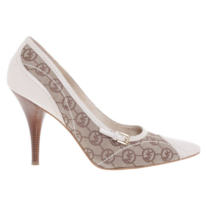 Michael Kors pumps with logo pattern