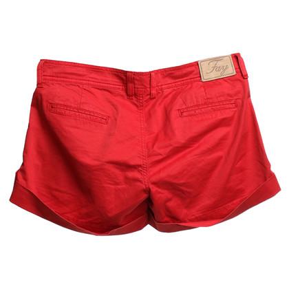 Fay Shorts in Rot