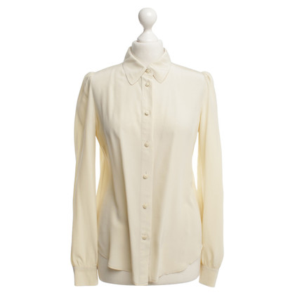 See by Chloé Zijden blouse in crème