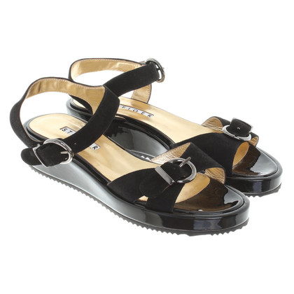 Walter Steiger Sandals in zwart