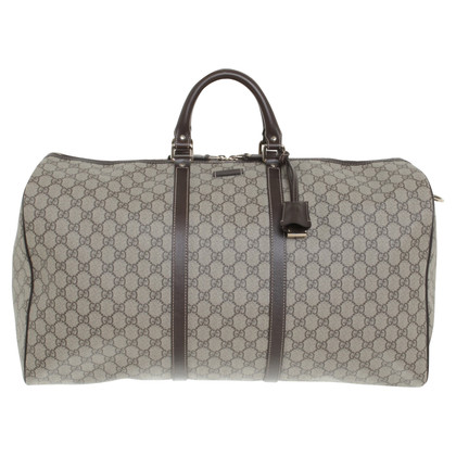 Gucci Travel bag made of GG Supreme Canvas
