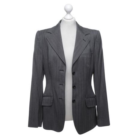 Grau Grau Blazer Gabbana in amp; Blazer Dolce Dolce Gabbana amp; zSPwS8Zx