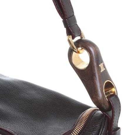 Outlet Kollektionen Céline Handtasche in Aubergine Violett Billig 2018 Günstig Kaufen Preise Günstiger Preis Aus Deutschland Günstiges Preis Original 2SwuKybA