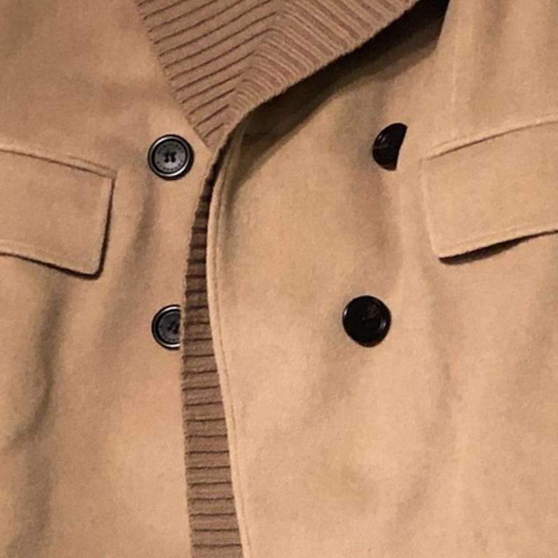 Kaschmir mantel beige