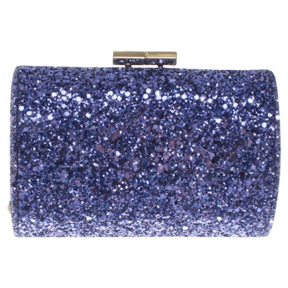 Jimmy Choo clutch in Violet