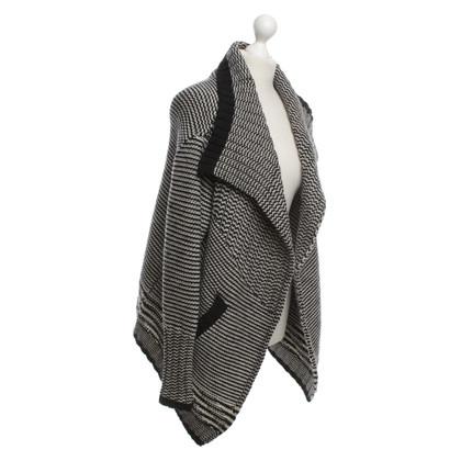 Dear Cashmere Wollen trui in zwart / White