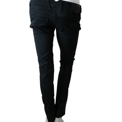 Armani Jeans Jeans avec des pierres précieuses