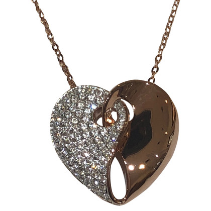 Swarovski Chain with Heart pendant