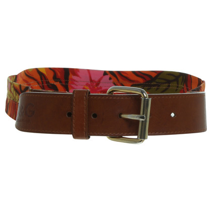 Dolce & Gabbana Belts of textile / leather
