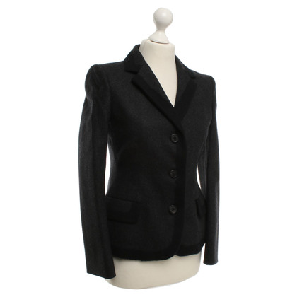 Prada Wool blazer in dark gray