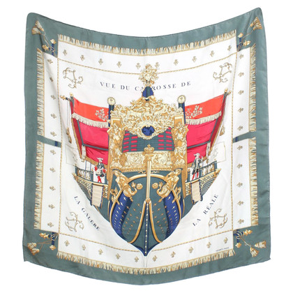 Hermès Zijden sjaal patronen