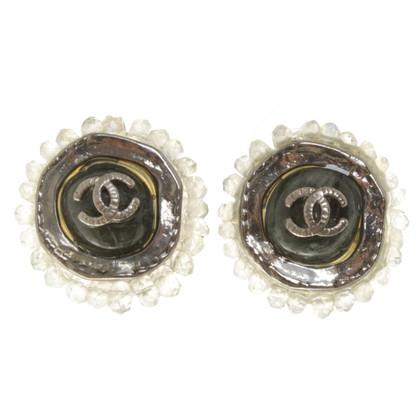 Chanel Borchie con logo