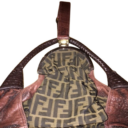 "Fendi ""Spia di Bag"" in marrone"